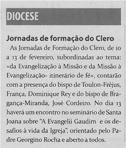 TV-fev14-p16-Jornadas de formação do clero