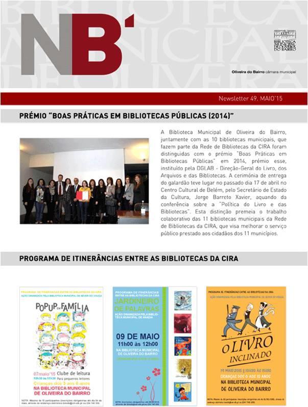 NB'-Newsletter49-maio'15-Prémio Boas Práticas em Bibliotecas Públicas.O livro inclinado:[açóes dinamizadas pela Biblioteca Municipal de Sever do Vouga].jpg