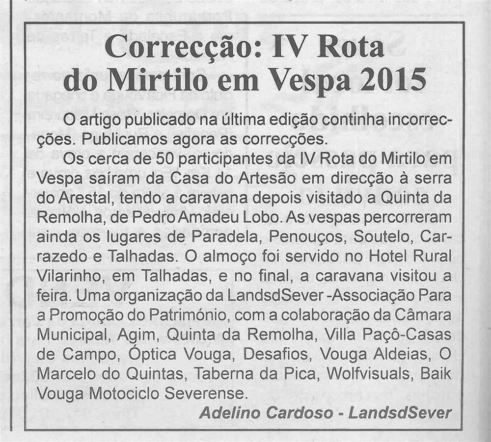 BV-1.ªago.'15-p.4-Correcção : IV Rota do Mirtilo em Vespa 2015.jpg