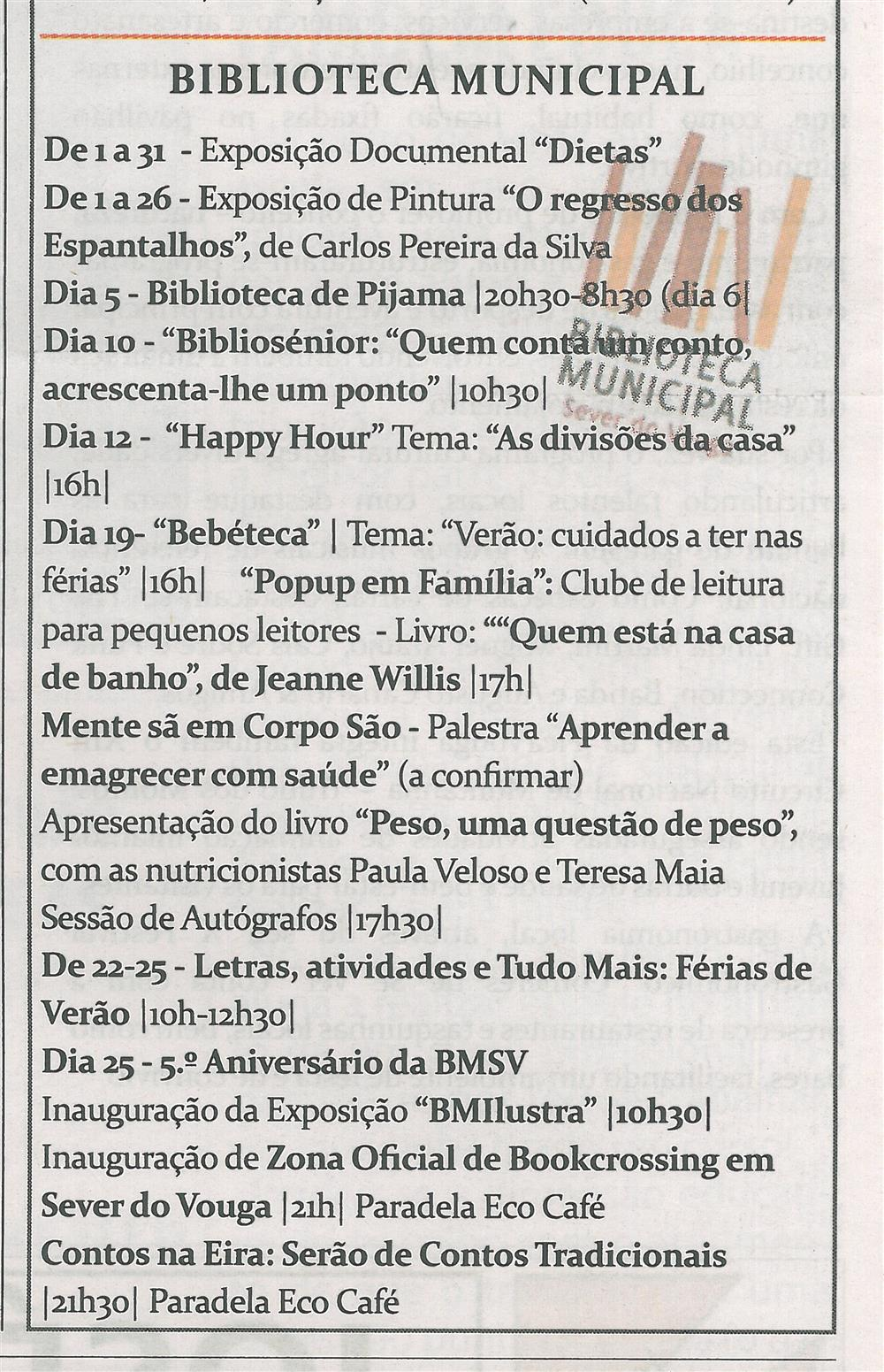 TV-jul.'14-p.15-Cultura : julho : Biblioteca Municipal.jpg