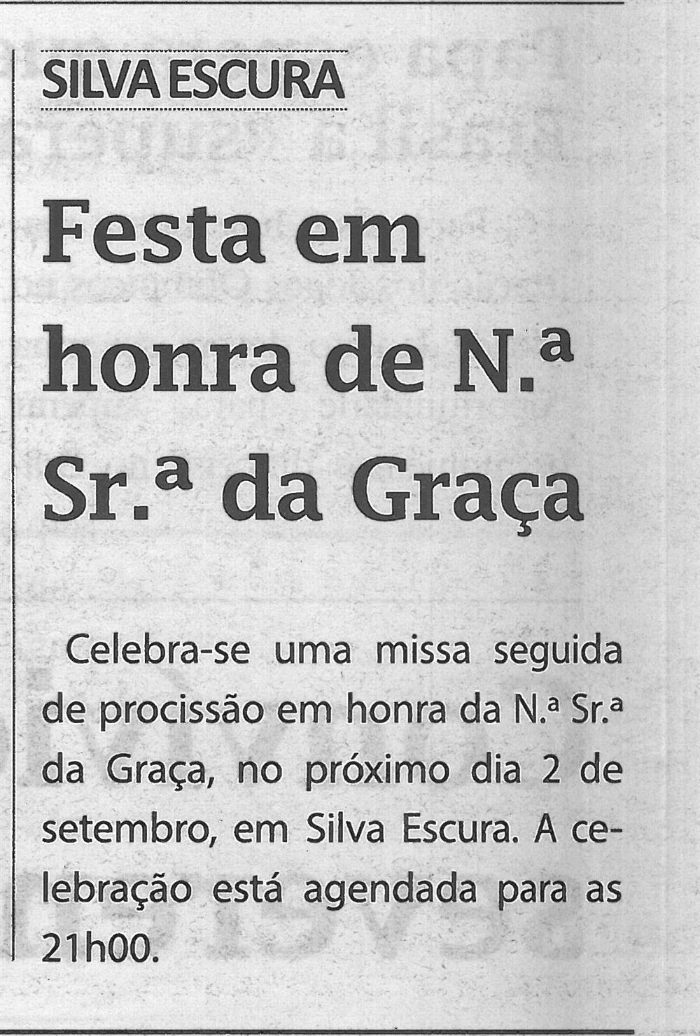 TV-ago.'16-p.6-Festa em honra de Nossa Senhora da Graça : Silva Escura.jpg