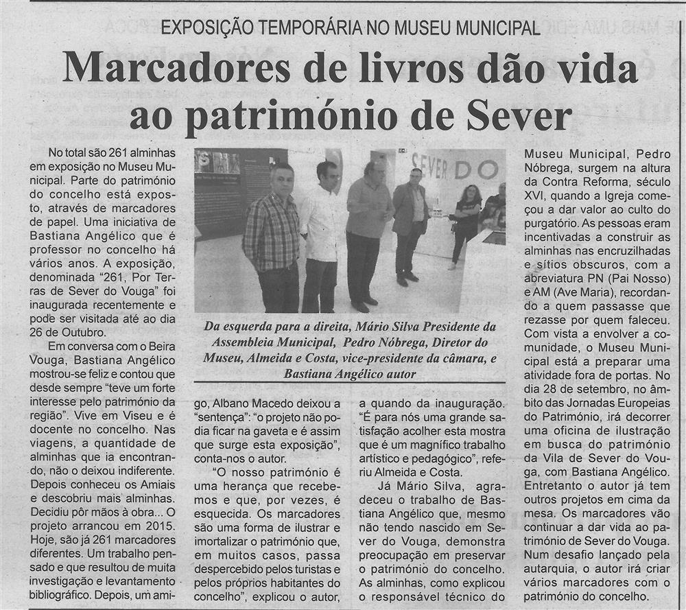 BV-1.ªjul.'19-p.6-Marcadores de livros dão vida ao património de Sever : exposição temporária no Museu Municipal.jpg