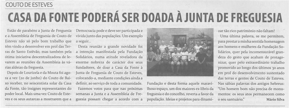 TV-jul.'15-p.4-Casa da Fonte poderá ser doada à Junta de Freguesia : Couto de Esteves.jpg