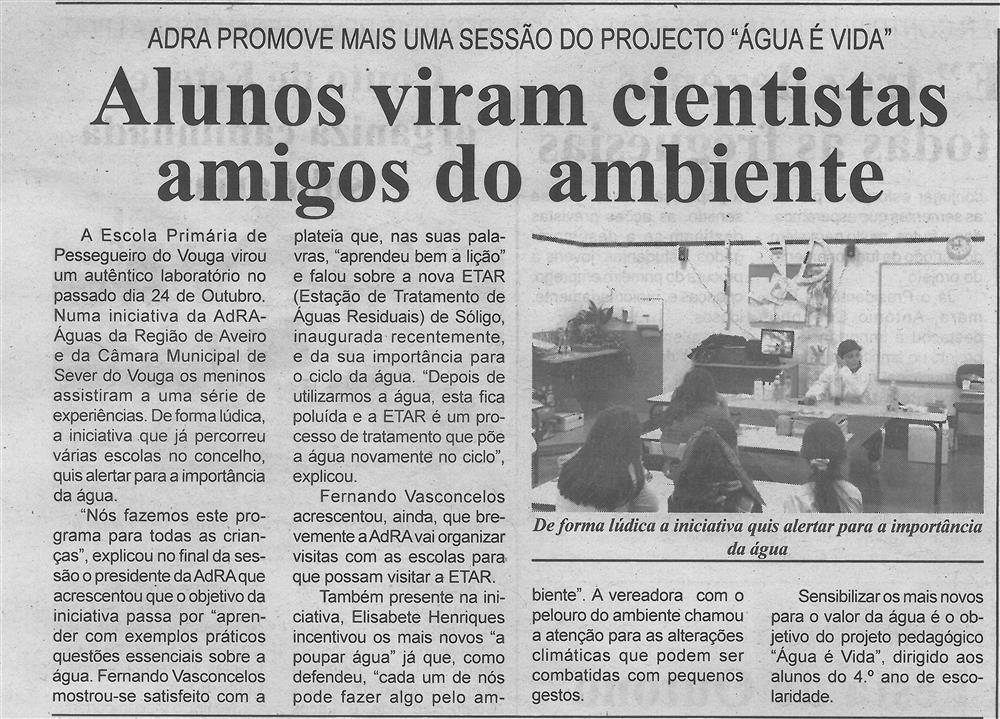 BV-1.ªnov.'19-p.6-Alunos viram cientistas amigos do ambiente : ADRA promove mais uma sessão do projeto Água É Vida.jpg