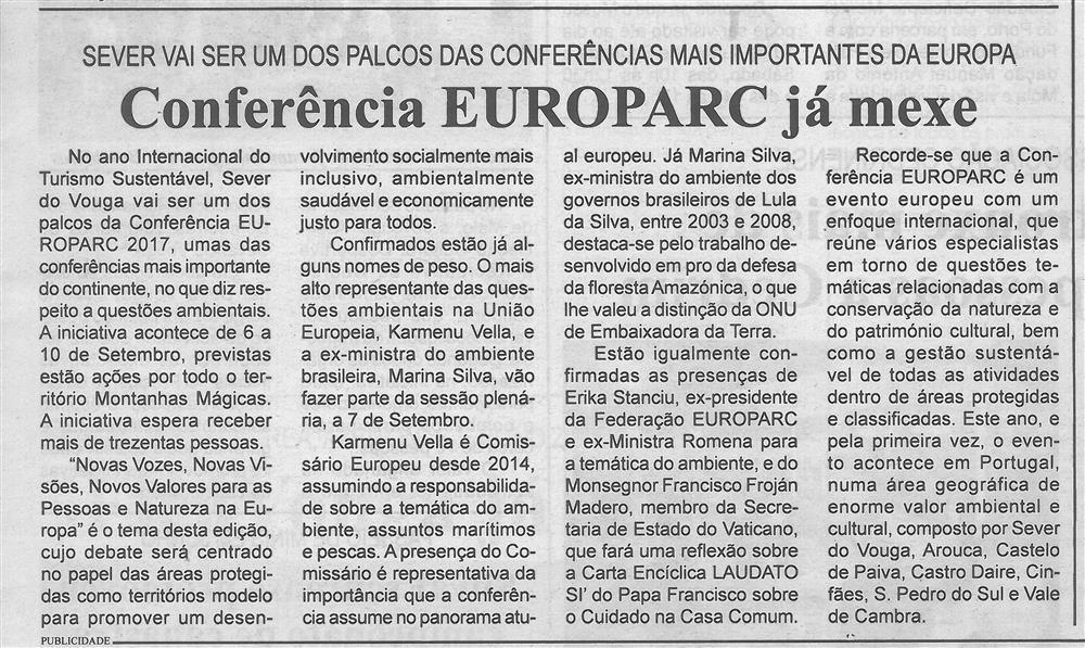 BV-2.ªmaio'17-p.3-Conferência Europarc já mexe : Sever vai ser um dos palcos das conferências mais importantes da Europa.jpg