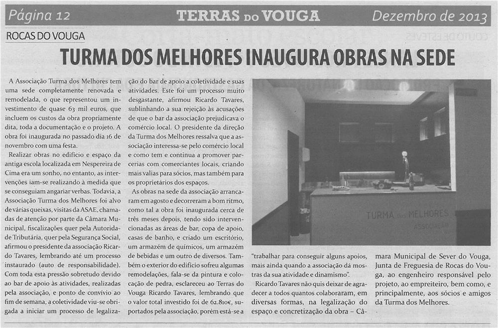 TV-dez13-p12-Turma dos Melhores inaugura obras na sede