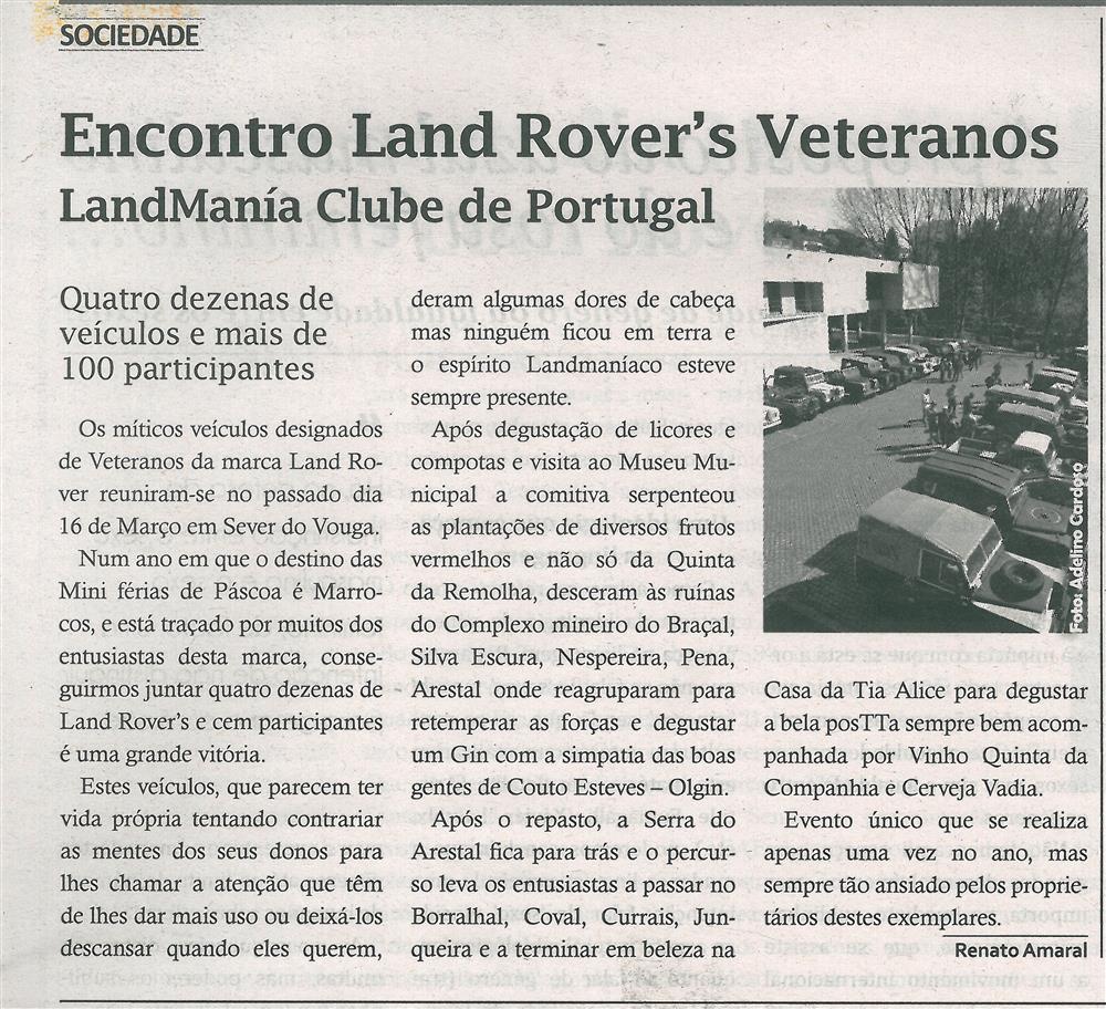 TV-abr.'19-p.9-Encontro Land Rover's Veteranos : LandMania Clube de Portugal.jpg