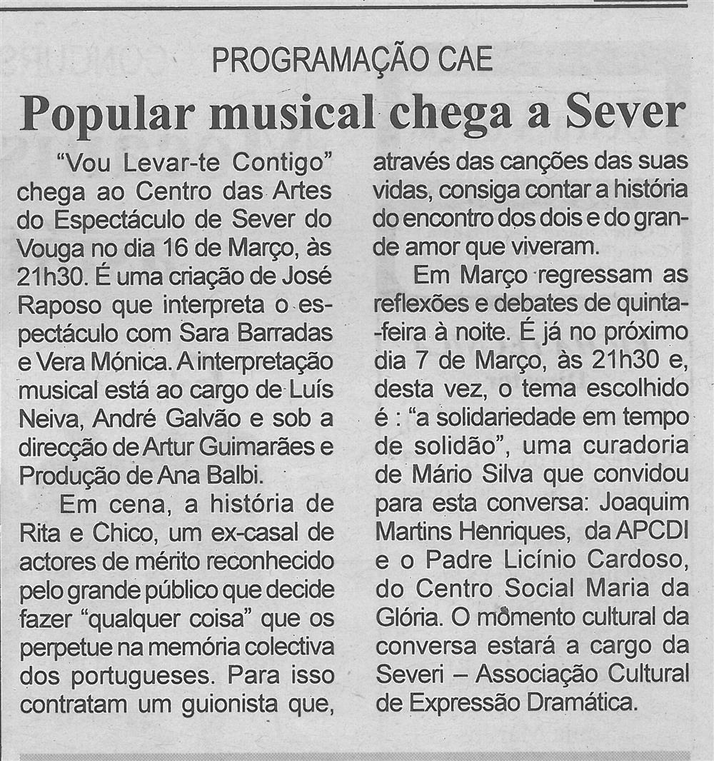 Popular musical chega a Sever.jpg