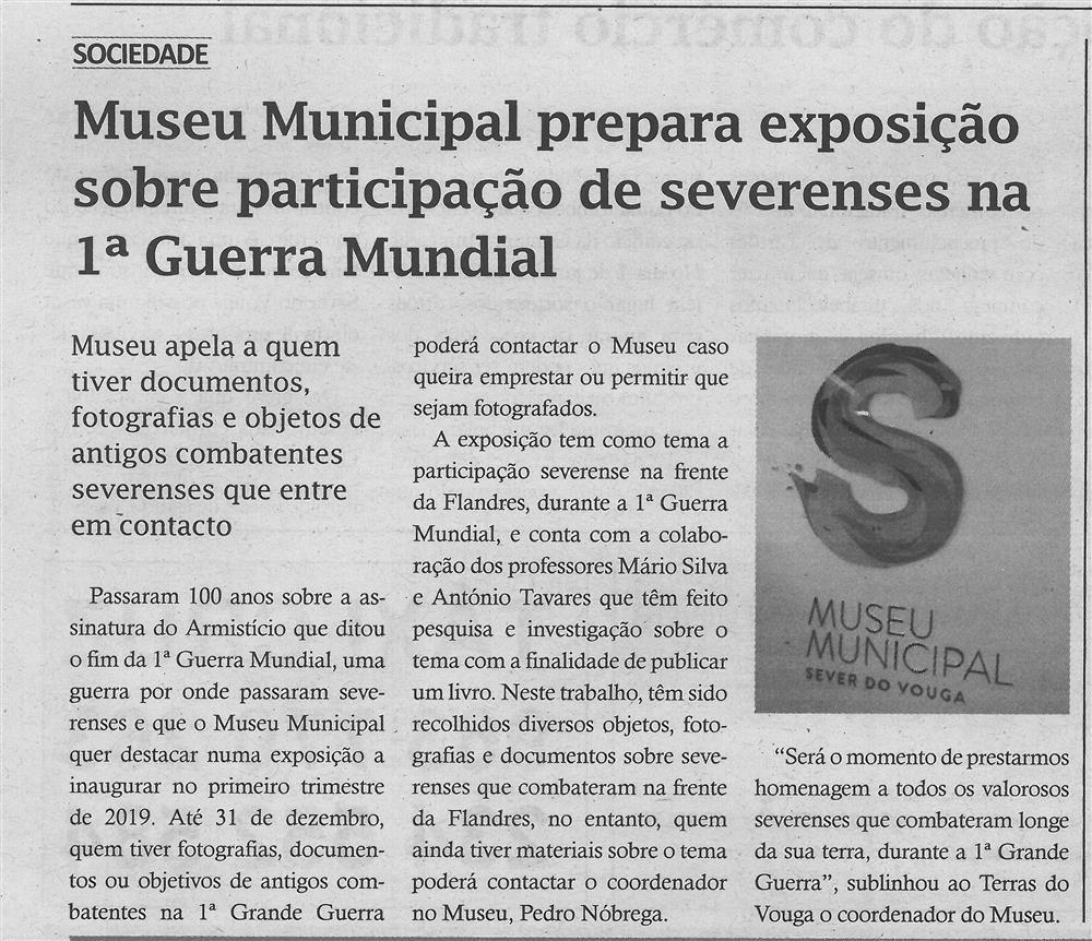 TV-dez.'18-p.6-Museu Municipal prepara exposição sobre participação de severenses na 1.ª Guerra Mundial.jpg