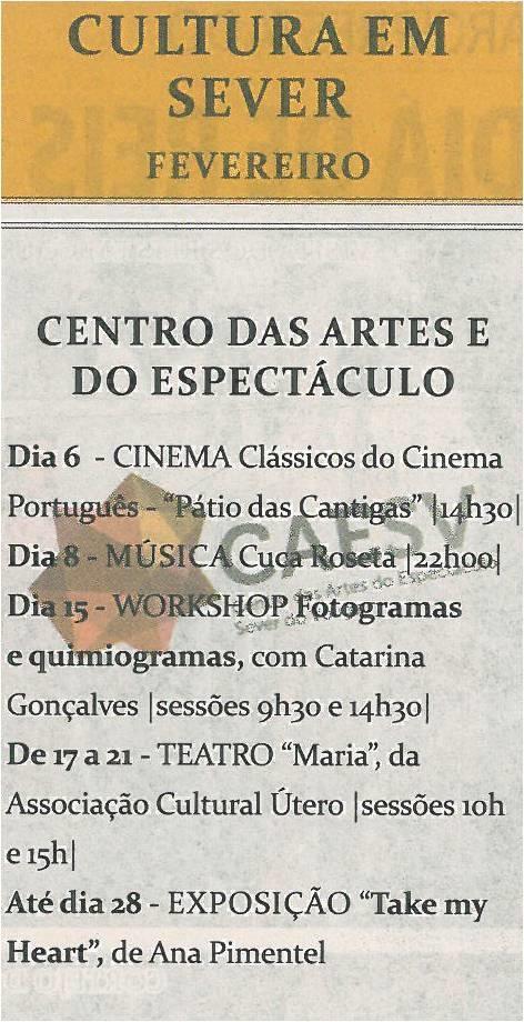 TV-fev14-p19-Cultura em Sever - fevereiro - Centro das Artes do Espetáculo