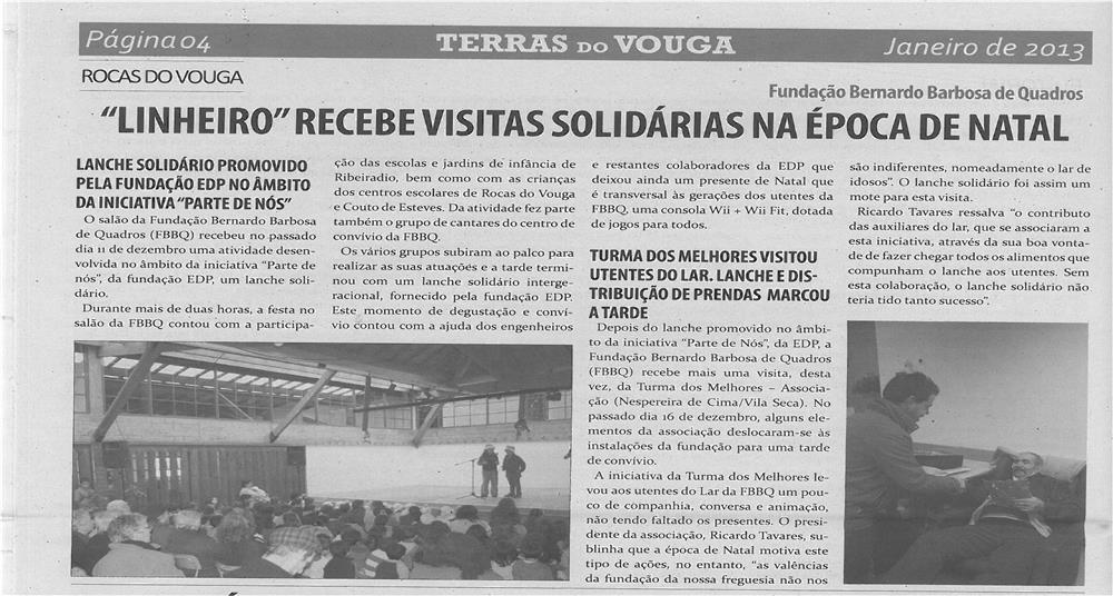 TV-jan13-p4-Linheiro recebe visitas solidárias na época de Natal