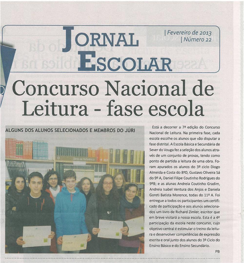 JE-fev13-p1-Concurso Nacional de Leitura