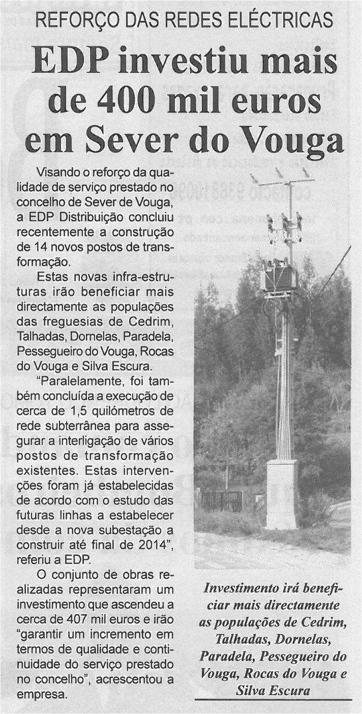 BV-1ªabr13-p2-EDP investiu mais de 400 mil euros em Sever do Vouga