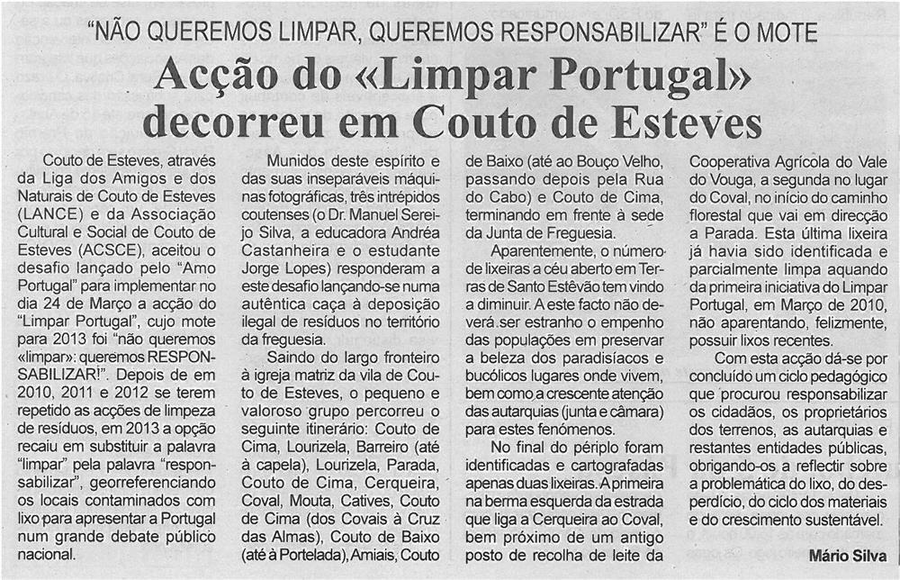 BV-1ªabr13-p5-Acção do Limpar Portugal decorreu em Couto de Esteves