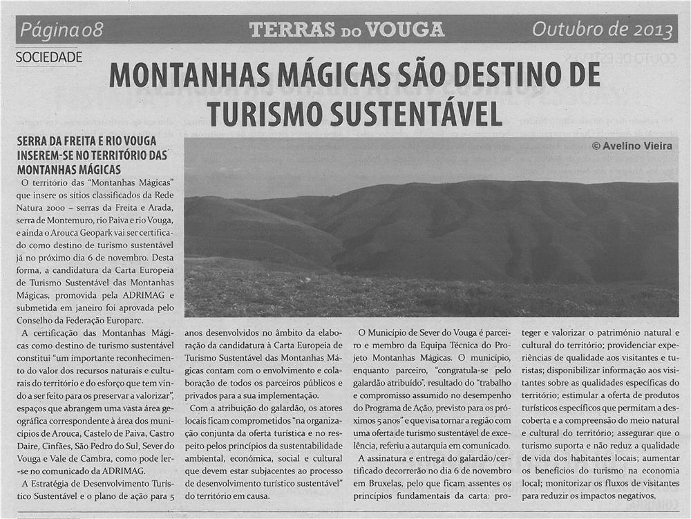 TV-out13-p8-Montanhas Mágicas são destino de turismo sustentável
