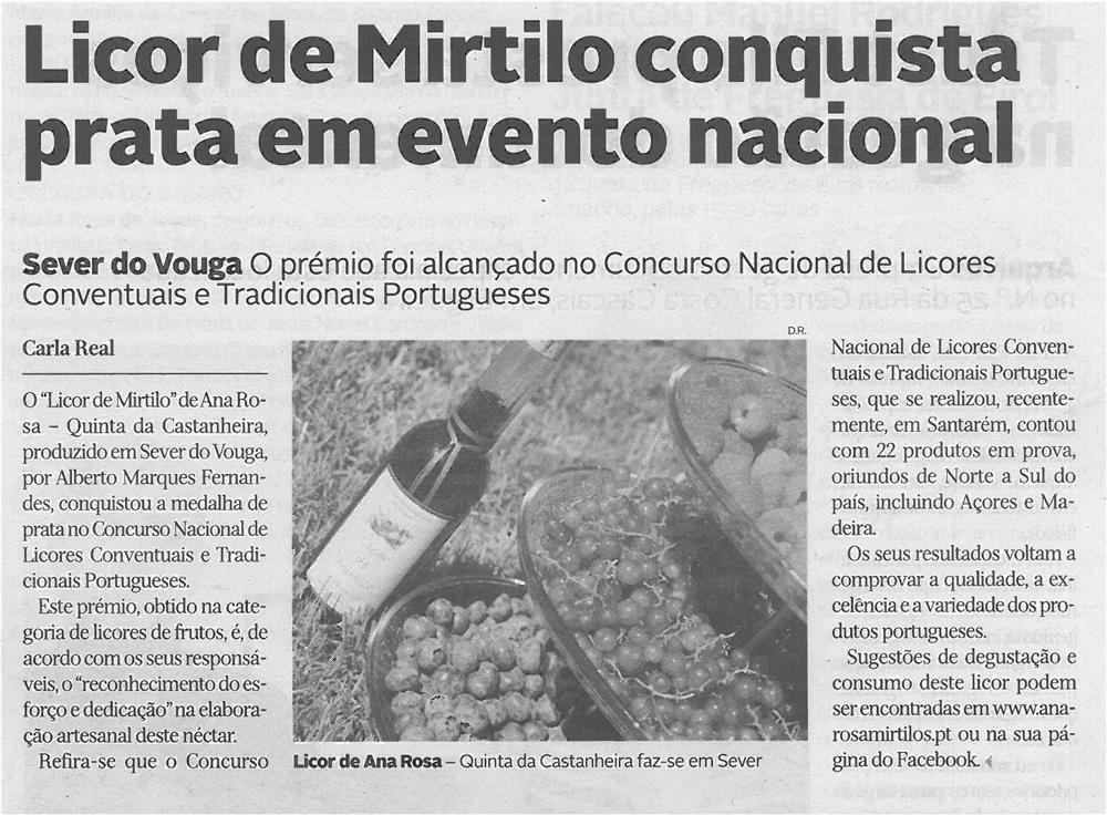 JPEG: DA-16abr14-p26-Licor de Mirtilo conquista prata em evento nacional