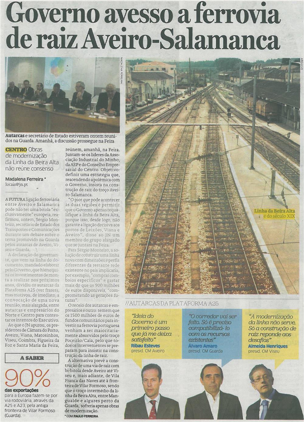 JN-02jul14-p26-Governo avesso a ferrovia de raiz Aveiro-Salamanca