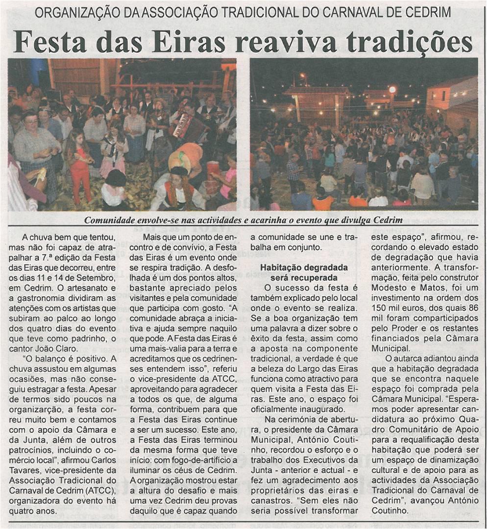BV-2ªset'14-p16-Festa das Eiras reaviva tradições : organização da Associação Tradicional do Carnaval de Cedrim.jpg