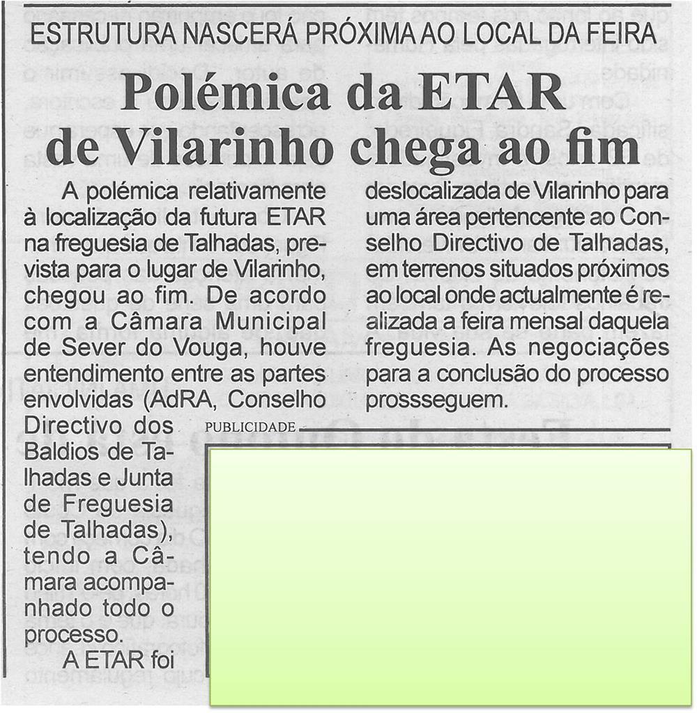 BV-1ªout'14-p3-Polémica da ETAR de Vilarinho chega ao fim : estrutura nascerá próxima ao local da feira.jpg