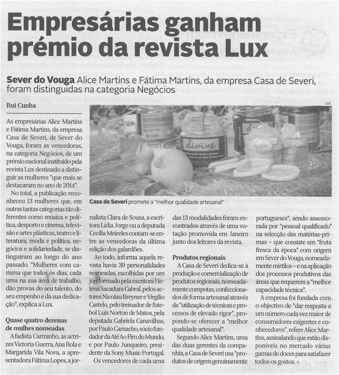 DA-05fev.'15-p.26-Empresárias ganham prémio da revista Lux.jpg