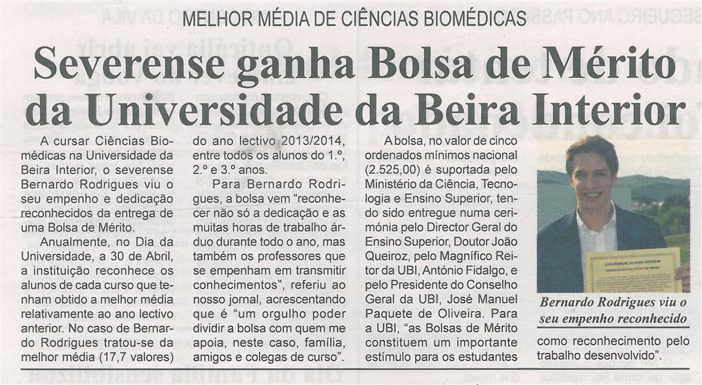BV-2.ªmaio'15-p.8-Severense ganha Bolsa de Mérito da Universidade da Beira Interior.jpg
