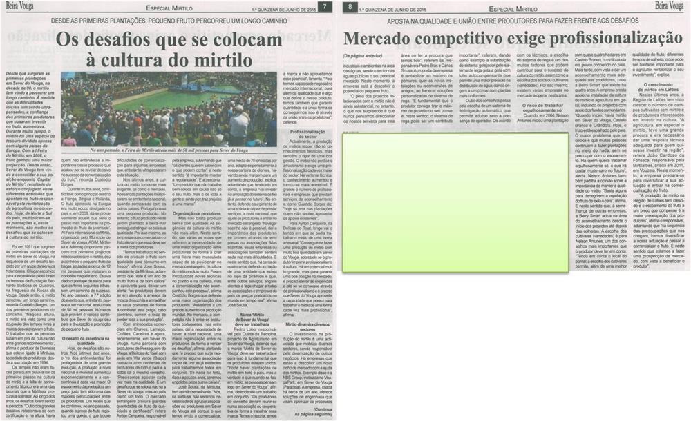 BV-1.ªjun'15-p.7,8-Os desafios que se colocam à cultura do mirtilo : mercado competitivo exige profissionalização.jpg