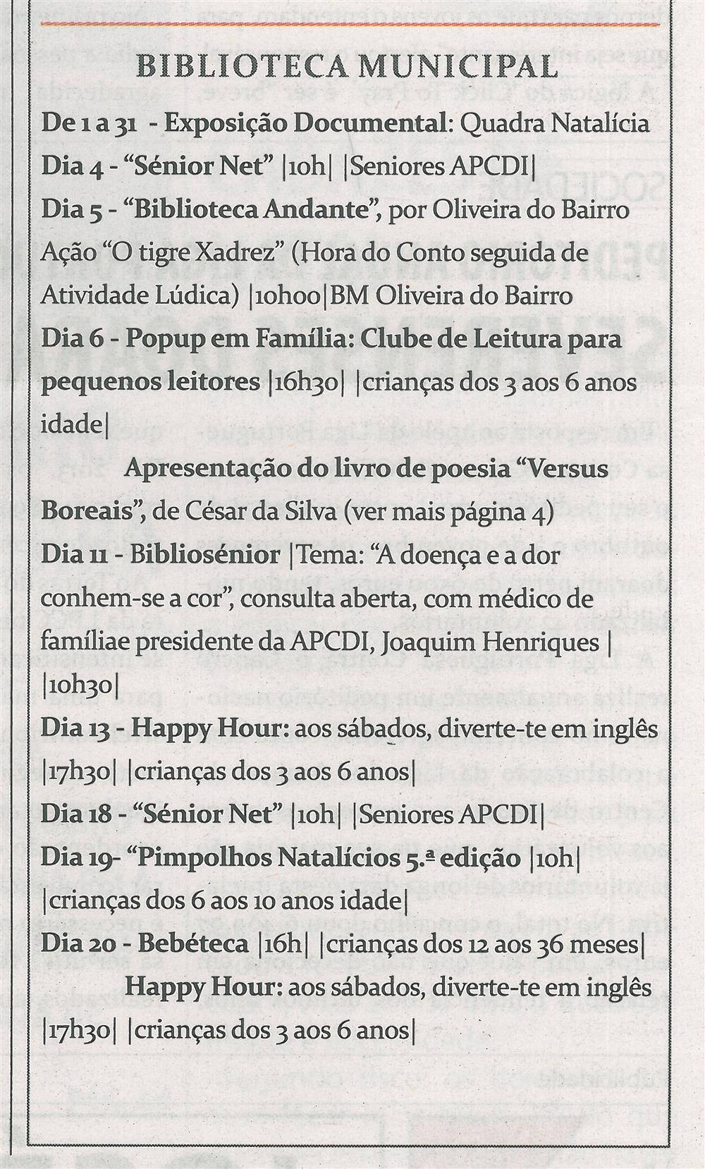 TV-dez.'14-p.15-Cultura : dezembro : Biblioteca Municipal.jpg
