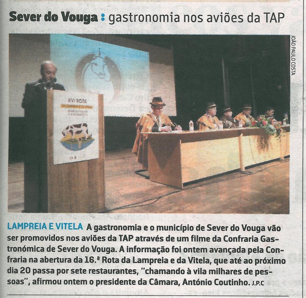 JN-13mar.'16-p.31-Sever do Vouga : gastronomia nos aviões da TAP : lampreia e vitela.jpg