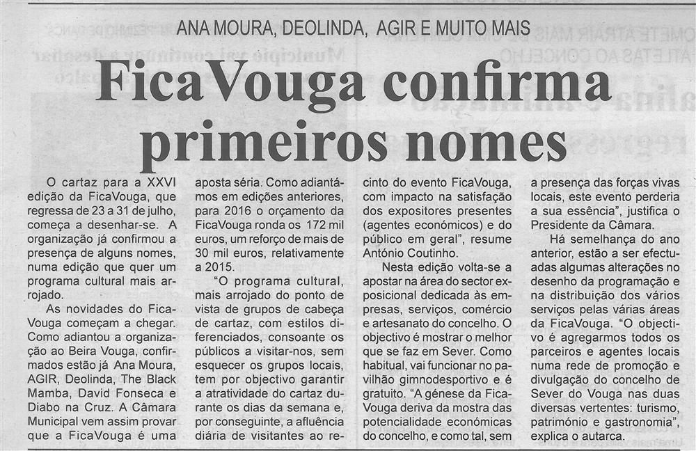 BV-1.ªabr.'16-p.3-FicaVouga confirma primeiros nomes : Ana Moura, Deolinda, Agir e muito mais.jpg
