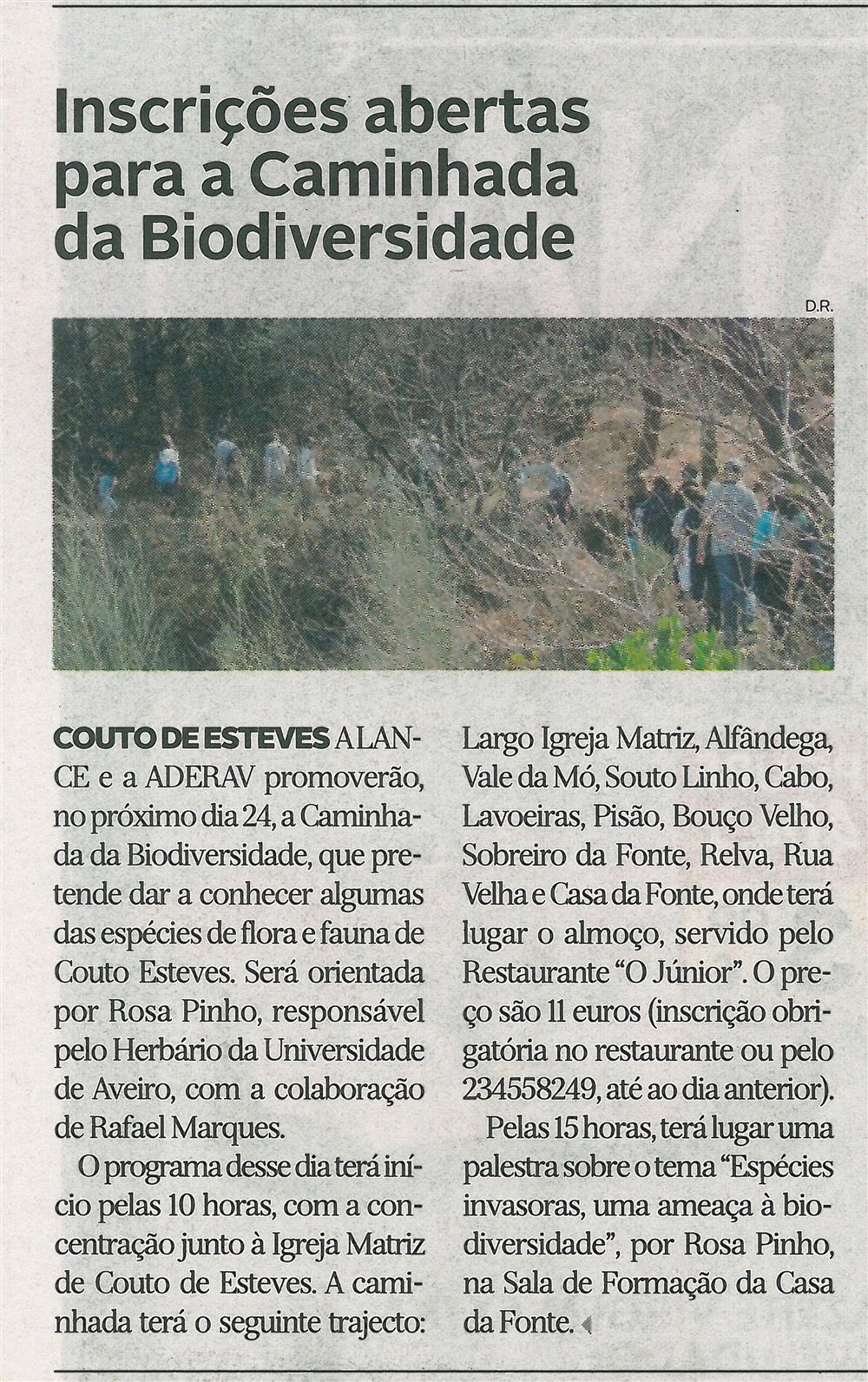 DA-12abr.'16-p.14-Inscrições abertas para a Caminhada da Biodiversidade.jpg