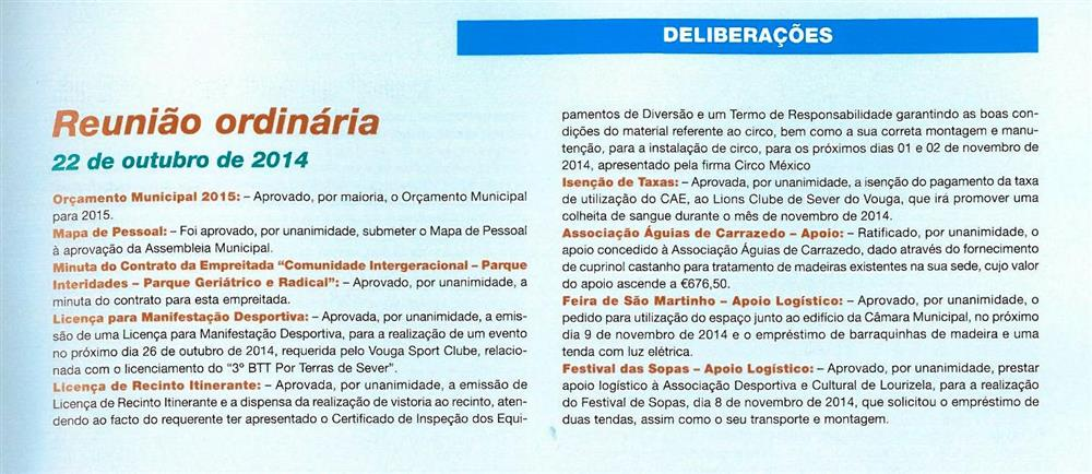 BoletimMunicipal-n.º32-nov.'15-p.59-Reunião Ordinária [de] 22 de outubri de 2014 : deliberações.jpg