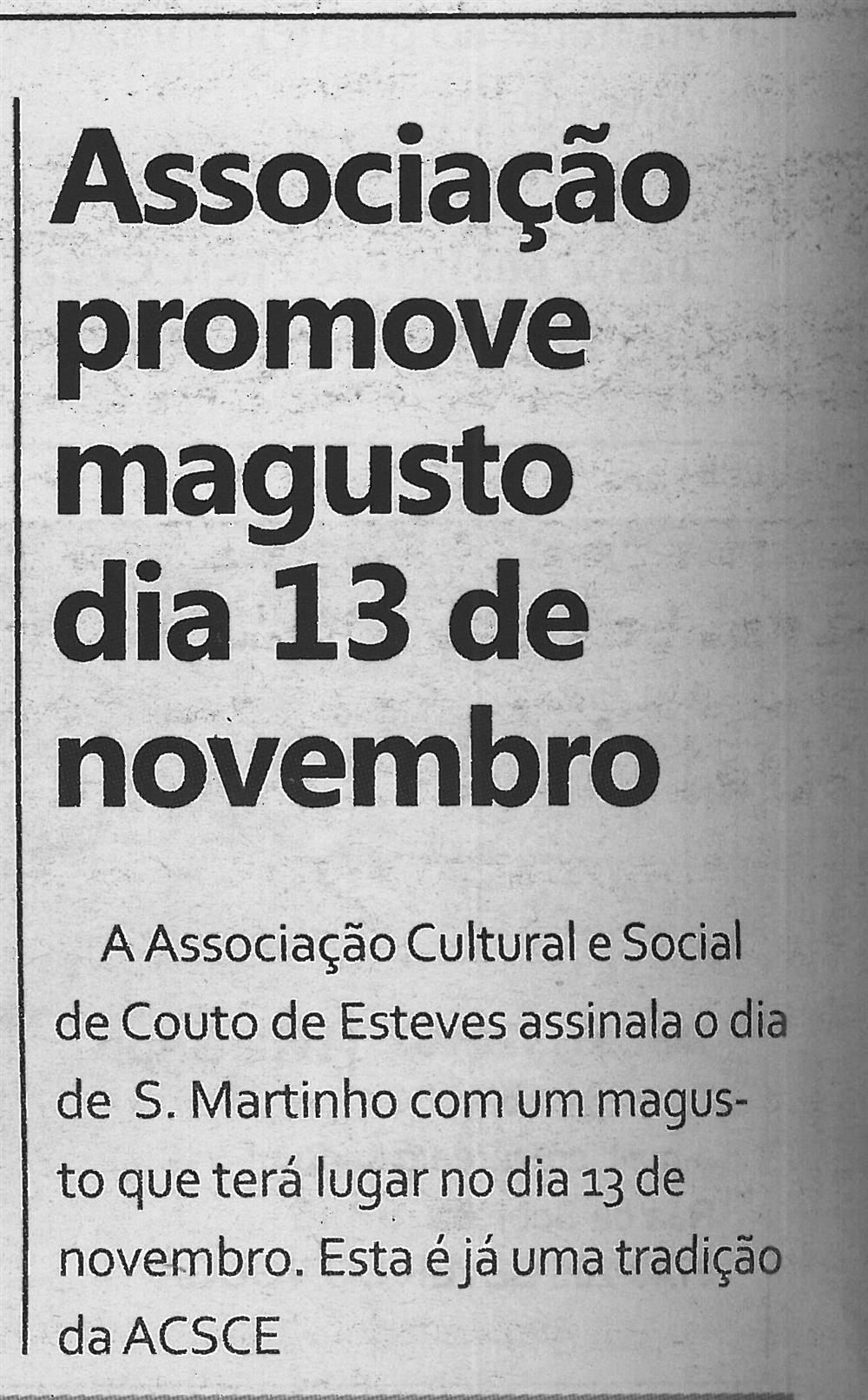 TV-nov.'16-p.6-Associação promove magusto dia 13 de novembro.jpg