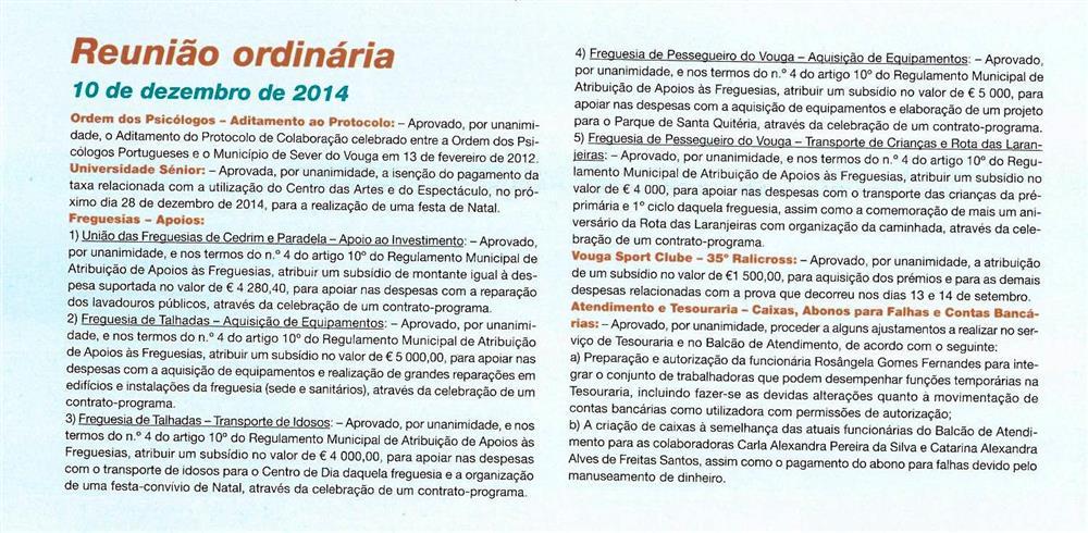 BoletimMunicipal-n.º32-nov.'15-p.60-Reunião ordinária [de] 10 de dezembro de 2014 : deliberações.jpg