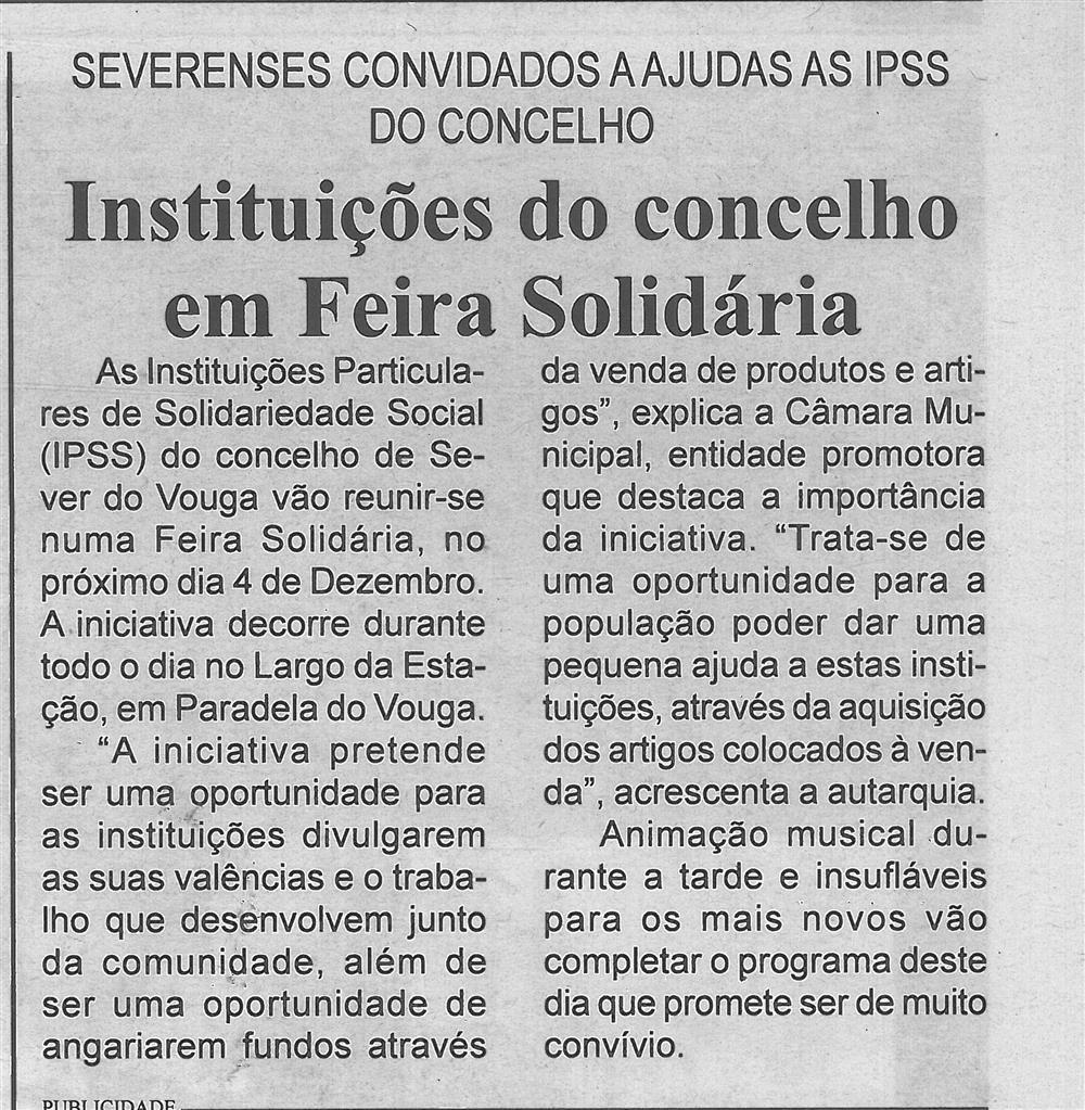 BV-2.ªnov.'16-p.7-Instituições do concelho em Feira Solidária : severenses convidados a ajudar as IPSS do concelho.jpg