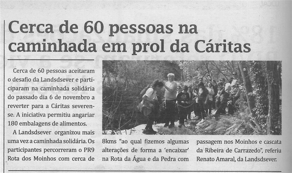 TV-dez.'16-p.6-Cerca de 60 pessoas na caminhada em prol da Cáritas.jpg