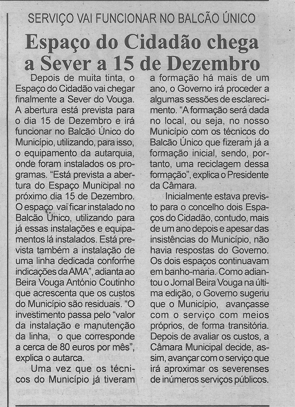 BV-1.ªdez.'16-p.3-Espaço do Cidadão chega a Sever a 15 de dezembro : serviço vai funcionar no Balcão Único.jpg