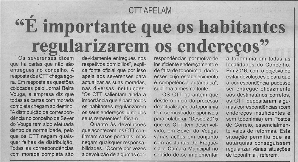 BV-1.ªfev.'17-p.3-É importante que os habitantes regularizem os endereços : CTT apelam.jpg