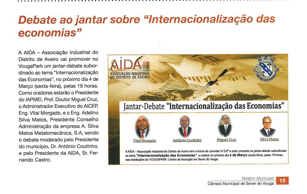 BoletimMunicipal-nº 33-nov'16-p.15-Debate ao jantar sobre internacionalização das economias.jpg