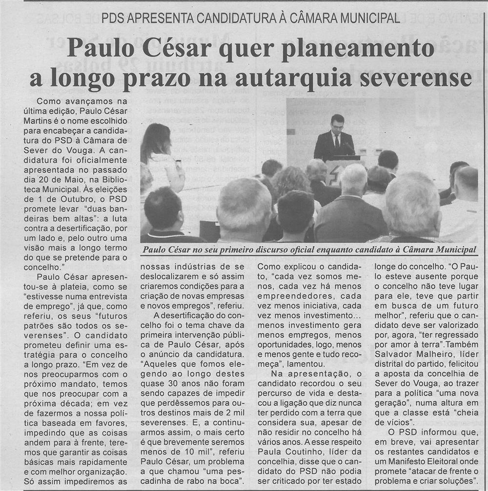BV-1.ªjun.'17-p.4-Paulo César quer planeamento a longo prazo na autarquia severense : PSD apresenta candidatura à Câmara Municipal.jpg