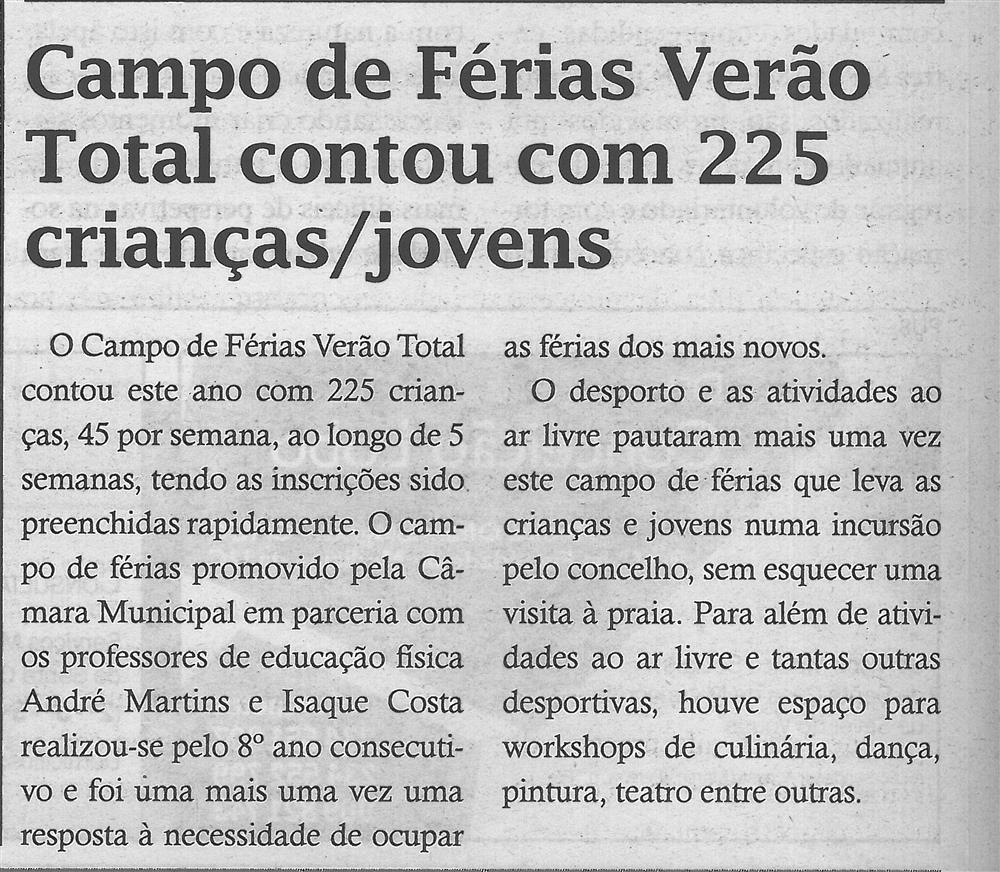 TV-ago.'18-p.8-Campo de Férias Verão Total contou com 225 crianças, jovens.jpg