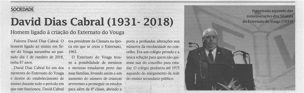 TV-out.'18-p.8-David Dias Cabral, 1931-2018 : homem ligado à criação do Externato do Vouga.jpg