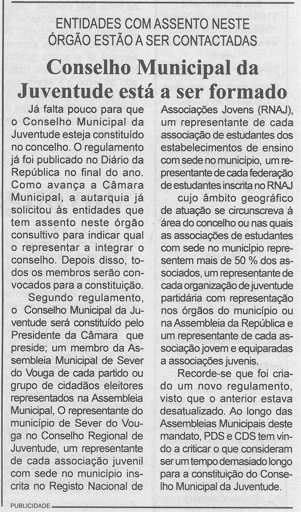 Conselho Municipal da Juventude está a ser formado.jpg