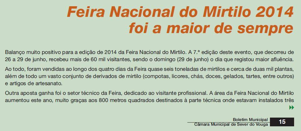 BoletimMunicipal-nº 31-nov'14-p.15-Feira Nacional do Mirtilo 2014 foi a maior de sempre.JPG