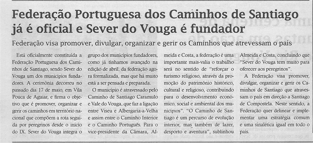 TV-jun.'19-p.4-Federação Portuguesa dos Caminhos de Santiago já é oficial e Sever do Vouga é fundador.jpg