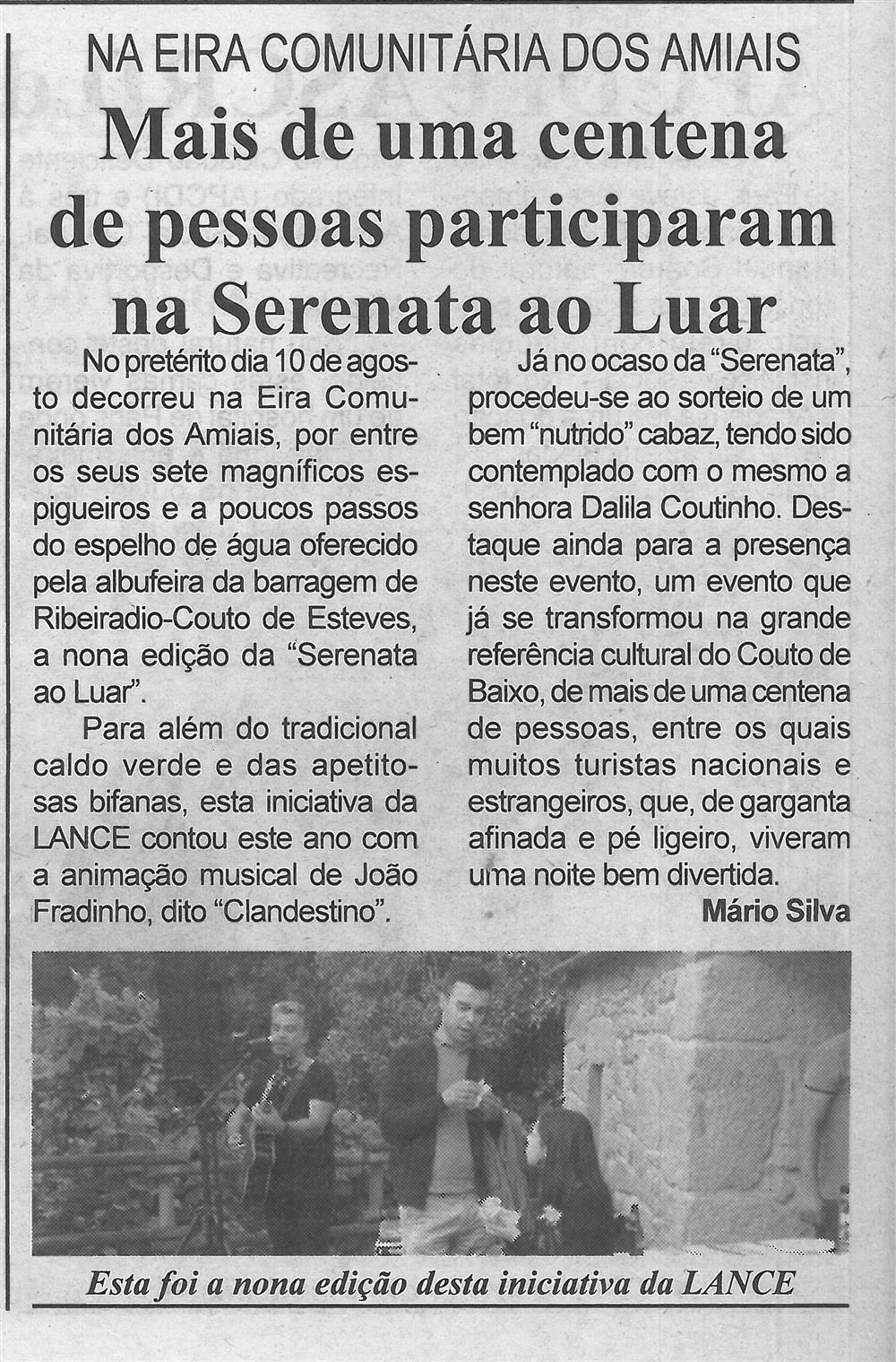 BV-1.ªset.'19-p.4-Mais de uma centena de pessoas participaram na Serenata ao Luar : na Eira Comunitária dos Amiais.jpg