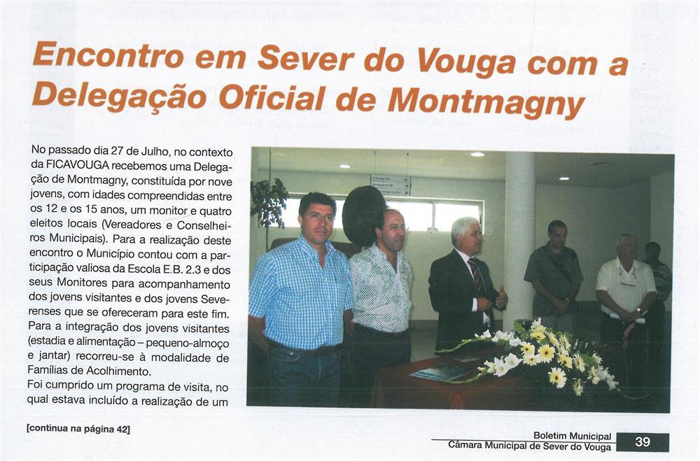 BoletimMunicipal-n.º 20-set.'06-p.39-Cultura e turismo [1.ª de duas partes] : encontro em Sever do Vouga com a Delegação Oficial de Montmagny.jpg