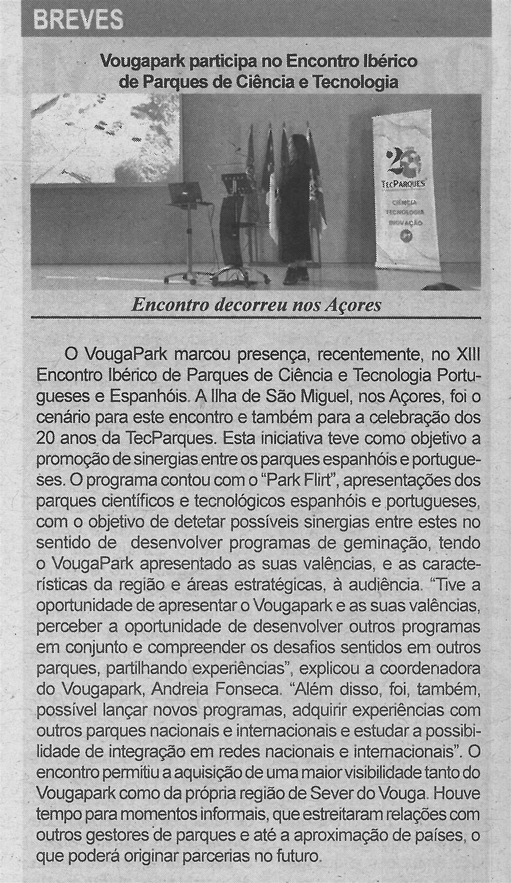 BV-2.ªdez.'19-p.6-VougaPark participa no Encontro Ibérico de Parques de Ciência e Tecnologia : encontro decorreu nos Açores.jpg