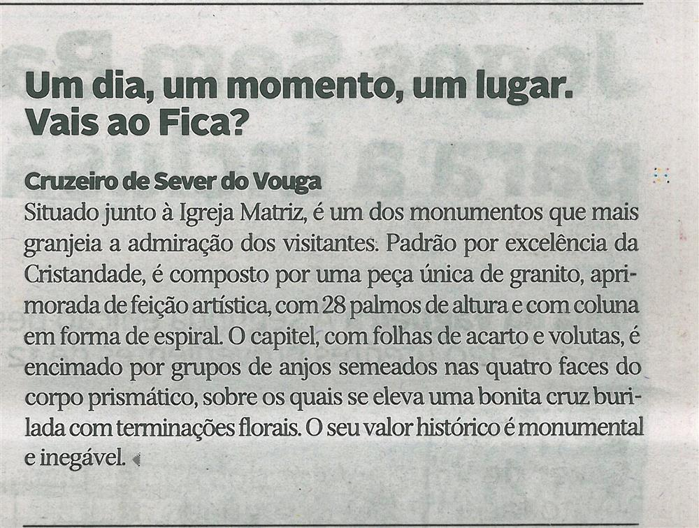 DA-29jul.'17-p.13-Um dia, um momento, um lugar : vais ao Fica : Cruzeiro de Sever do Vouga.jpg