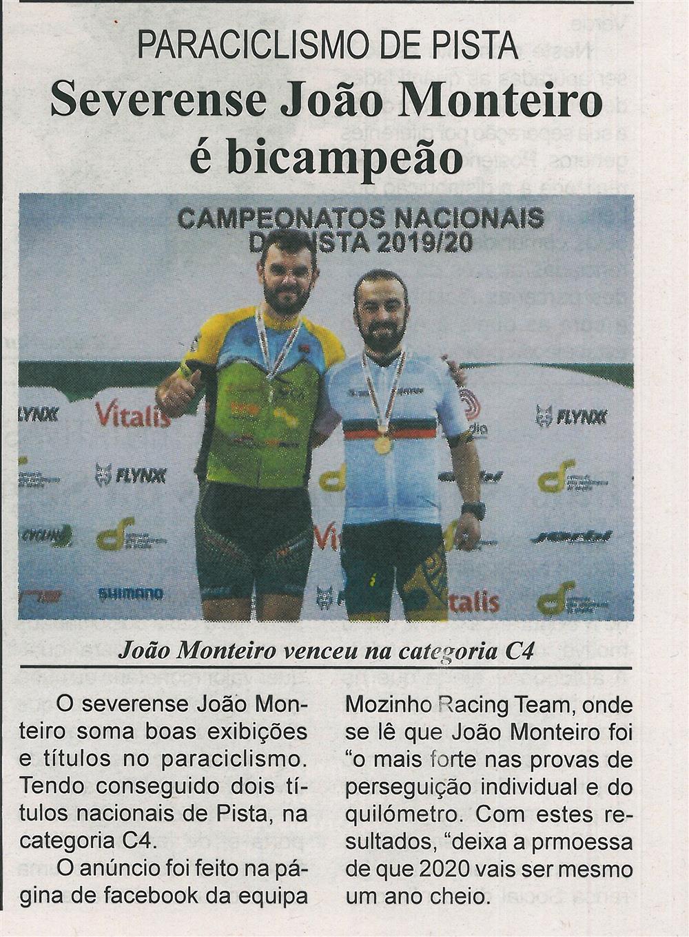 BV-1.ªfev.'20-p.8-Paraciclismo de pista : severense João Monteiro é bicampeão.jpg