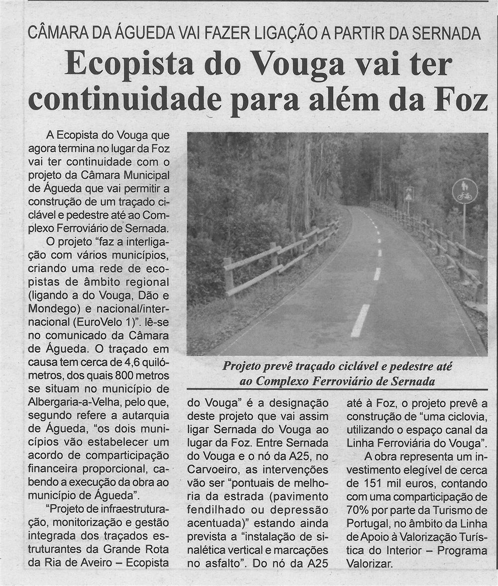 BV-2.ªago.'20-p.7-Ecopista do Vouga vai ter continuidade para além da Foz : Câmara de Águeda vai fazer ligação a partir da Sernada.jpg